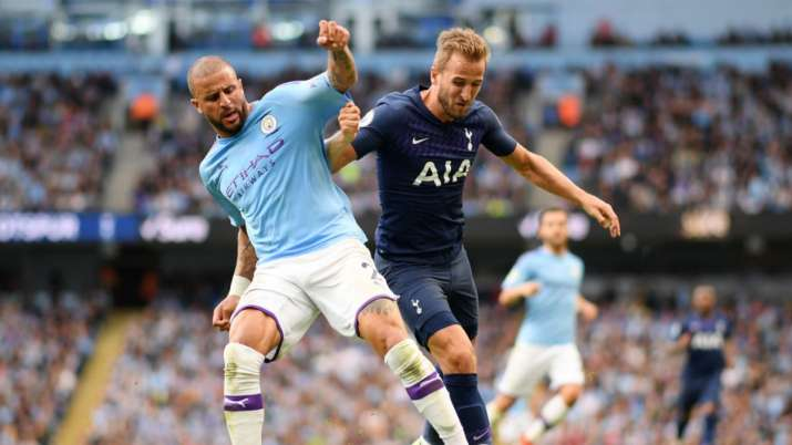 Harry Kane in spotlight as Man City opens PL title defense at Spurs