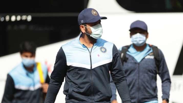 The India squad was in quarantine for 14 days in Mumbai