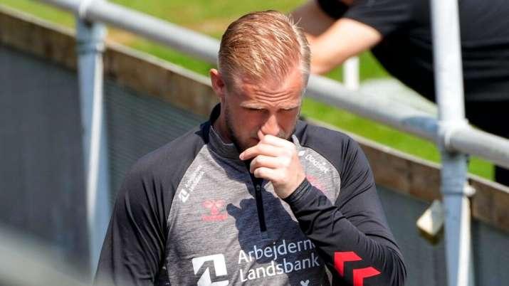 Euro 2020: Outpouring of support shows 'the reason I play', says Denmark's Kasper Schmeichel