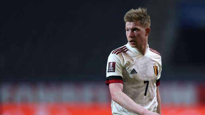Kevin De Bruyne to miss Belgium's game against Russia at Euro 2020