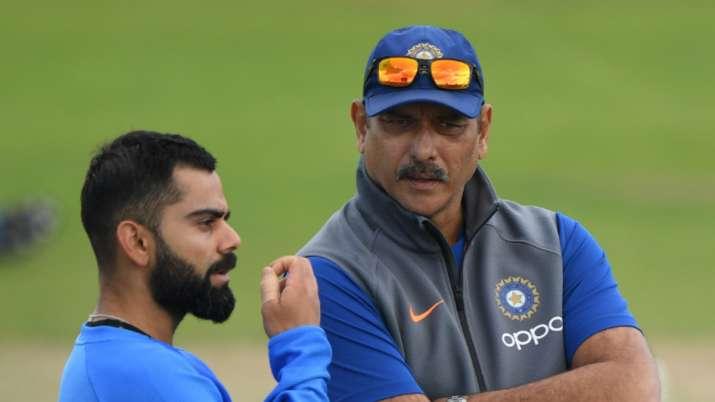 Virat Kohli and Ravi Shastri, Indian cricket team