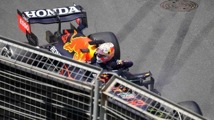 Verstappen crashes, Gasly fastest in Azerbaijan 3rd practice