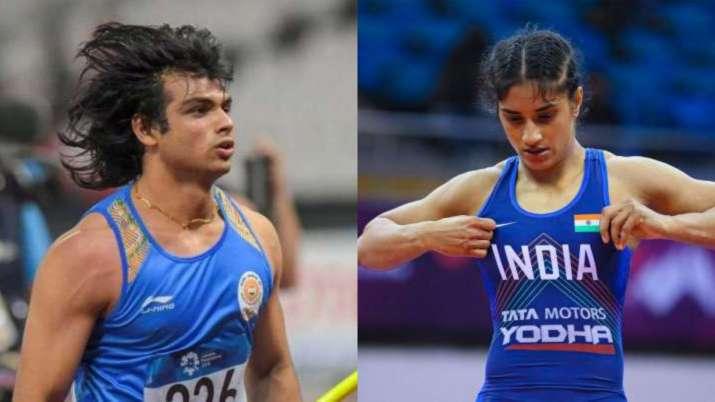SAI allows Neeraj Chopra, Vinesh Phogat to continue training in Europe ahead of Olympics