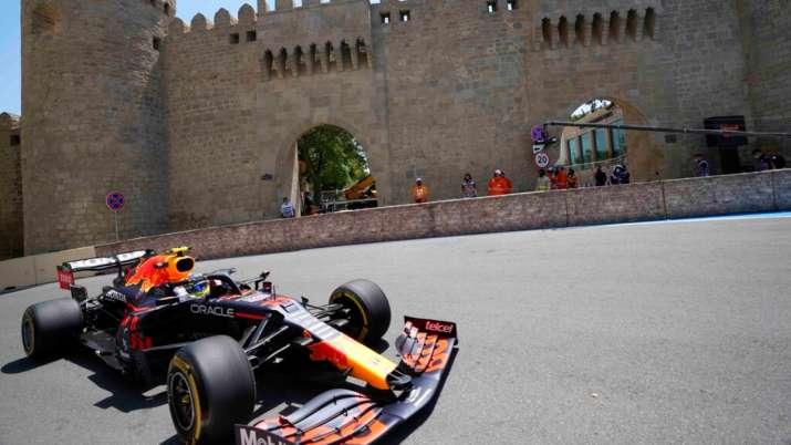Azerbaijan GP: Sergio Perez fastest in practice; Mercedes slow