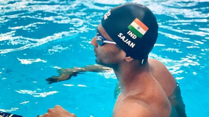 Sajan Prakash creates history, becomes first-ever Indian swimmer to make Olympic 'A' cut
