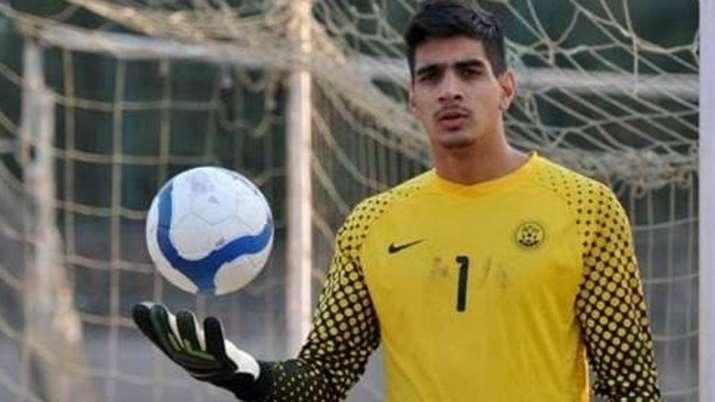 Indian goalkeeper Gurpreet Singh Sandhu