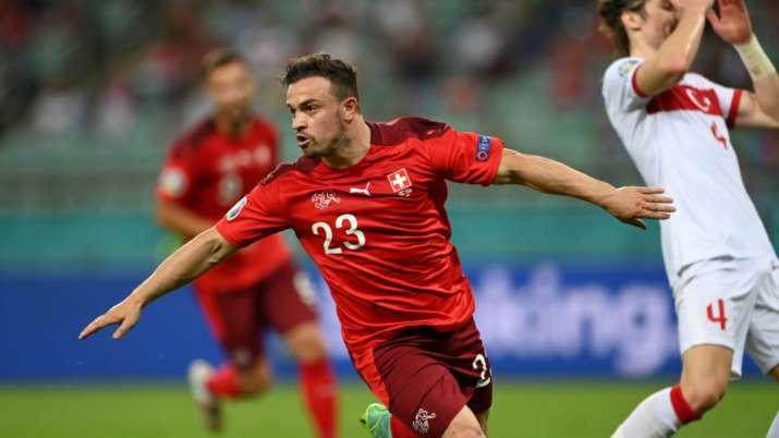 Euro 2020: Xherdan Shaqiri scores two as Switzerland beat Turkey
