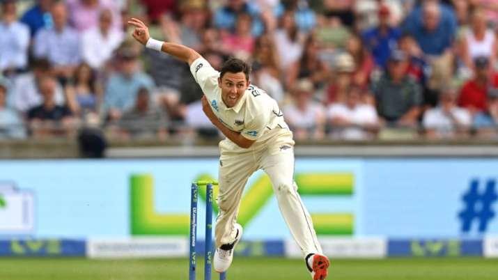 New Zealand left-arm fast bowler Trent Boult