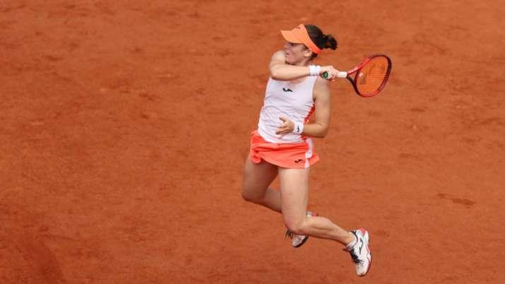 French Open: Tamara Zidansek first Slovenian woman into a major QF
