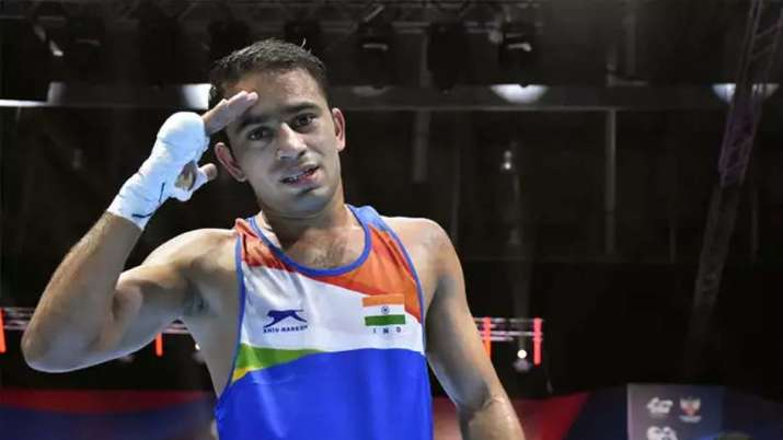 World no.1 Amit Panghal