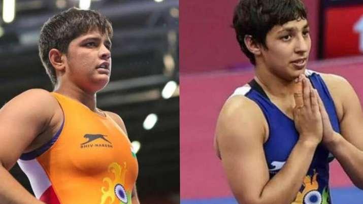 Sonam and Anshu Malik