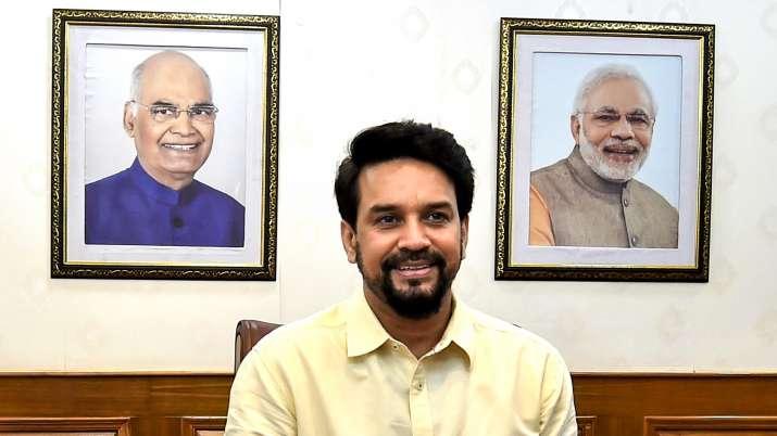 Sports Minister Anurag Thakur