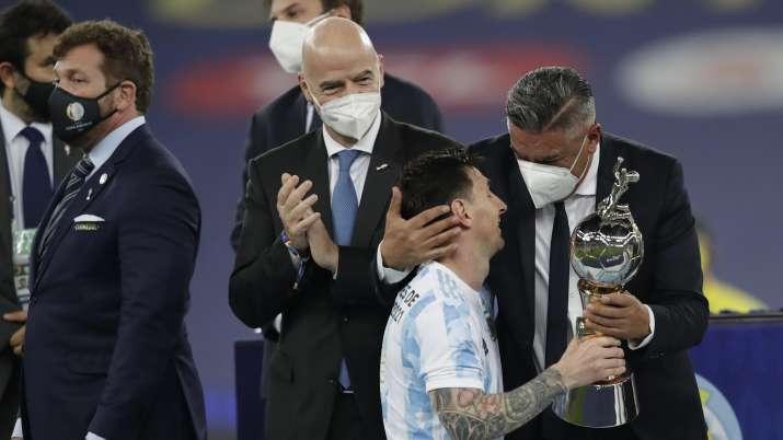Argentine Football Association, (AFA) President Claudio
