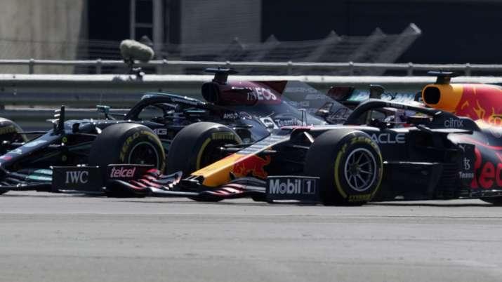 Red Bullhas been fuming since contact between Verstappen