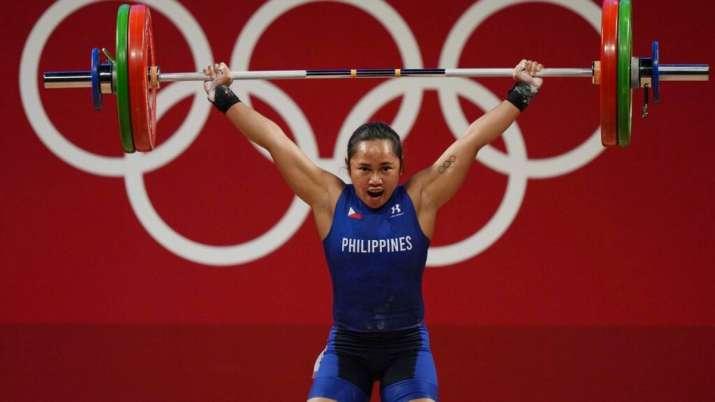 Hidilyn Diaz of Philippines