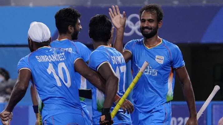 Indian men's hockey team finished second in Pool A