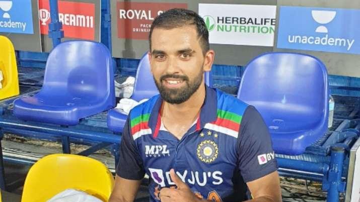 It was Dravid's call to promote Chahar in batting order, says Bhuvneshwar Kumar