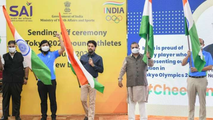 Union Minister of I&B and Youth Affairs & Sports Anurag