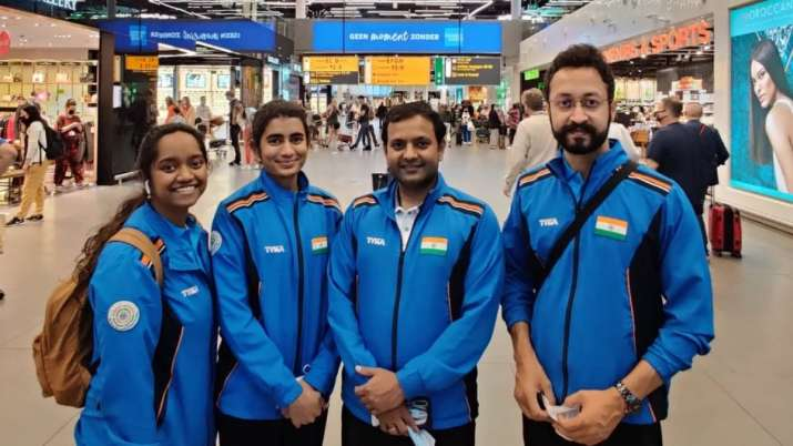 Indian shooters leave Zagreb for Tokyo