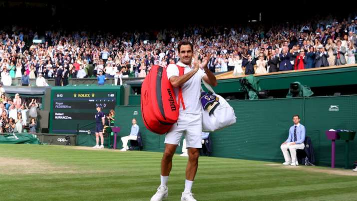 Wimbledon 2021   Roger Federer ousted by Poland's Hubert Hurkacz in straight-set defeat