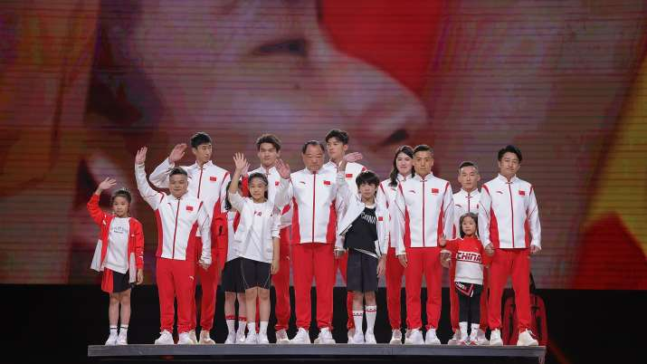 Chinese Olympic Team Tokyo 2020 Uniform Unveiling
