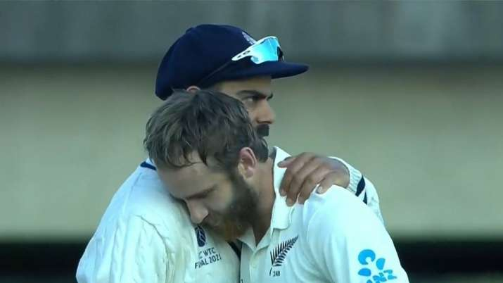 Kane Williamson opens up on moment he rested his head on Virat Kohli's shoulder after WTC Final win