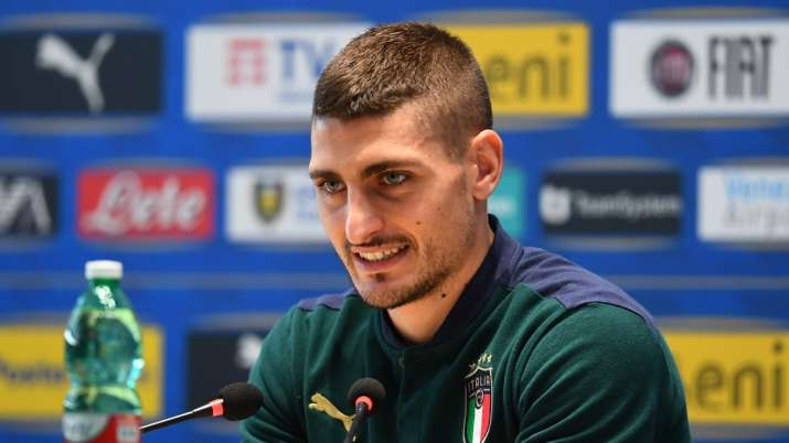 Italy's Veratti doesn't fear England, calls controversial Sterling penalty 'generous'