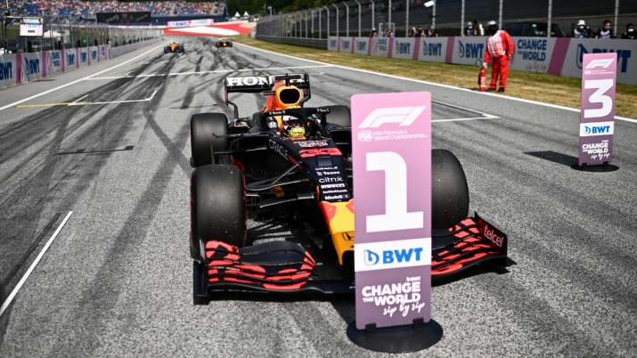 F1: Max Verstappen takes pole for Austrian GP, Lewis Hamilton 4th