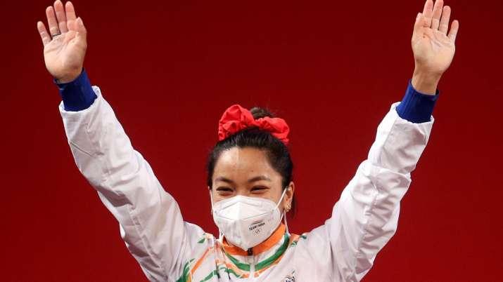Tokyo Olympic silver-medallist Mirabai Chanu