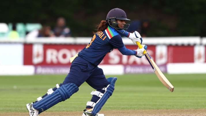 ENG W vs IND W   Mithali Raj shines again to lead India to first victory on England tour
