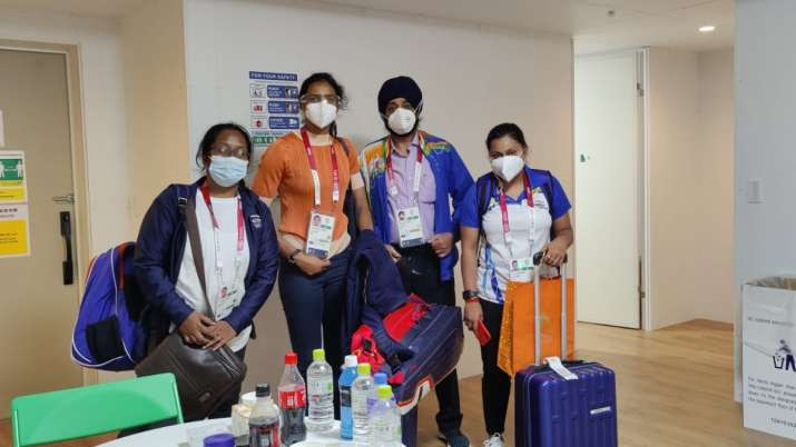 Tokyo Olympics: India's contingent checks into Games Village