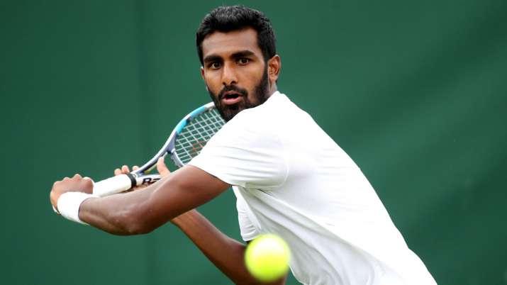 Singles player Prajnesh Gunneswaran