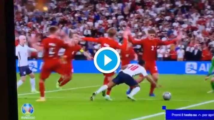 england vs denmark penalty, euro 2020,