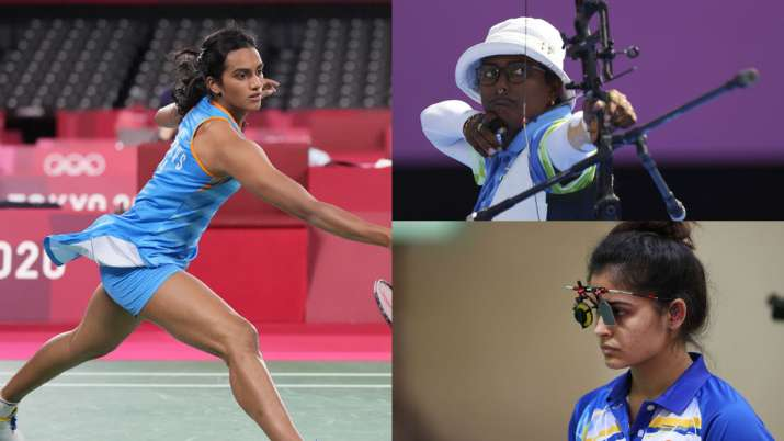 India at 2020 Tokyo Olympics Day 7