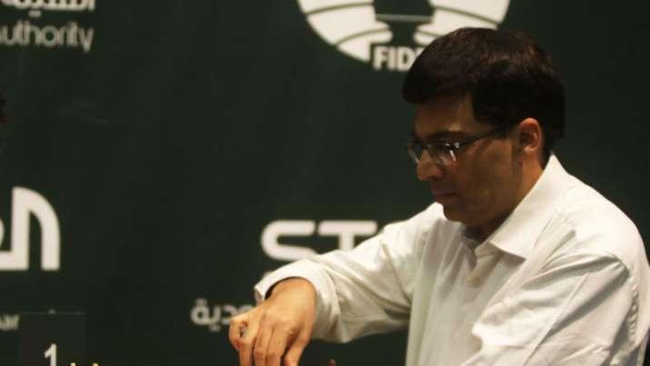 Viswanathan Anand beats Garry Kasparov in Croatia Grand Chess Tour