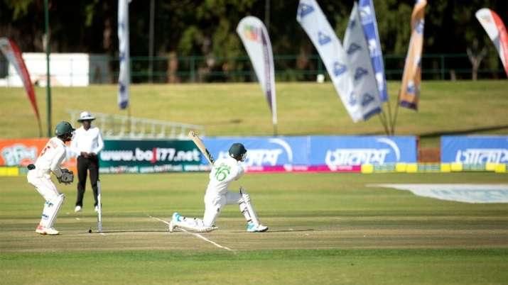 ZIM vs BAN, Only Test Day 1 | Liton Das, Mahmudullah save Bangladesh the blushes