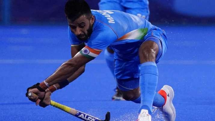Indian men's hockey captain Manpreet Singh