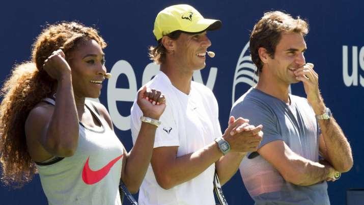 Serena Williams, Rafael Nadal, Roger Federer,