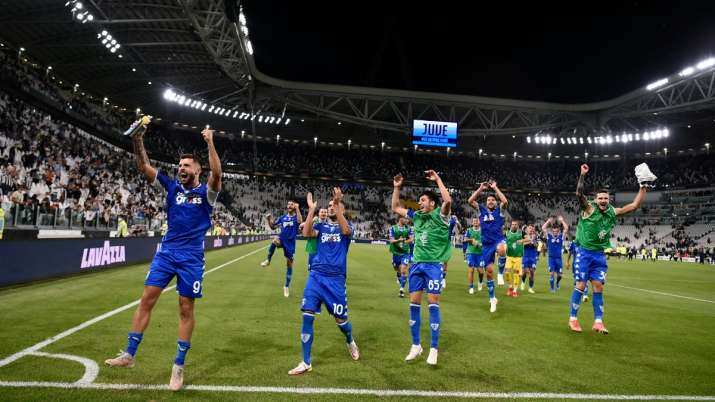 Juventus lose at home to Empoli in first game post Cristiano Ronaldo's departure