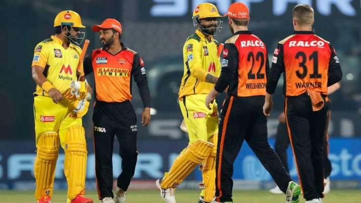 SRH vs CSK Live Score IPL 2021 Match 44, Sunrisers Hyderabad vs Chennai Super Kings