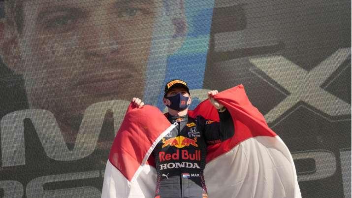 Red Bull driver Max Verstappen of the Netherlands