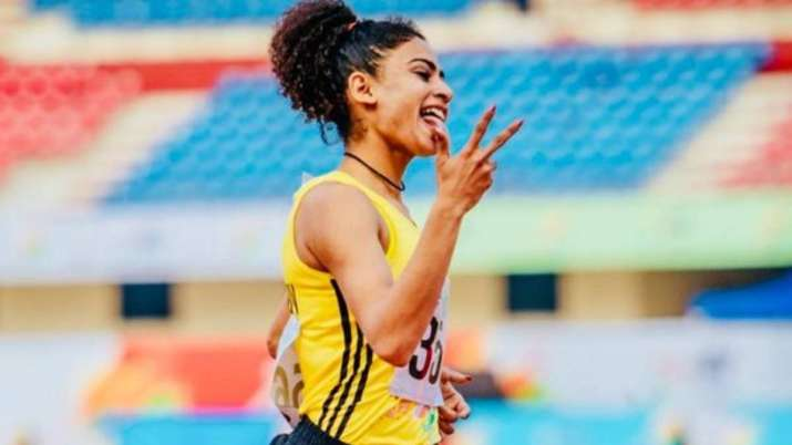Harmilan Bains won two gold medals at the National Open in