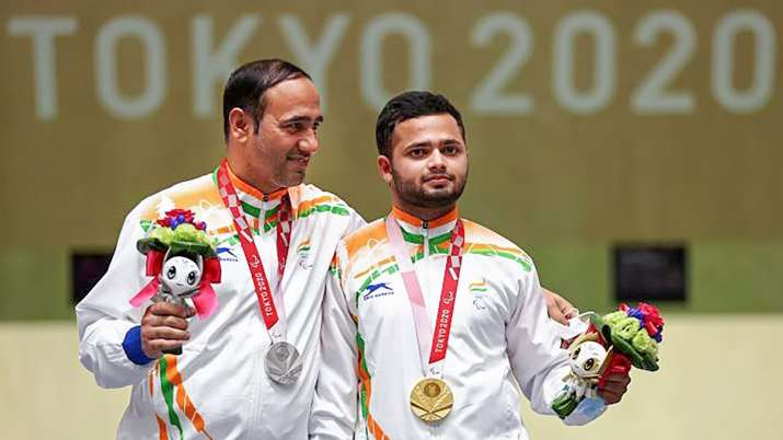 Double Delight! Manish Narwal wins gold; Singhraj silver in shooting mixed 50m pistol SH1 at Paralym