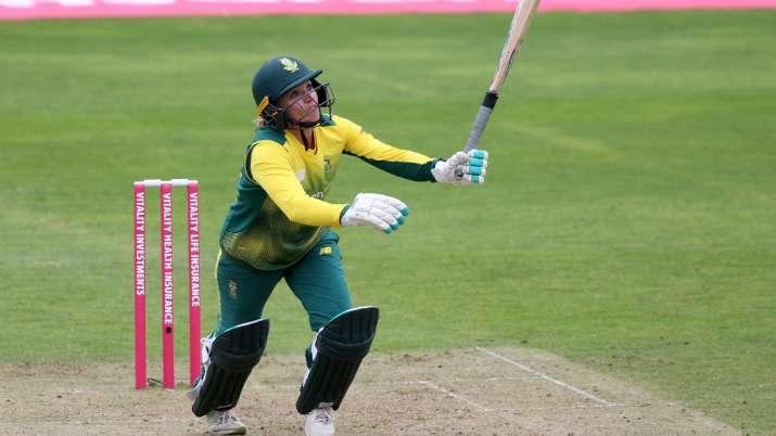 WI W vs SA W: Mignon du Preez, van Niekerk lift visitors to 35-run win in 4th ODI