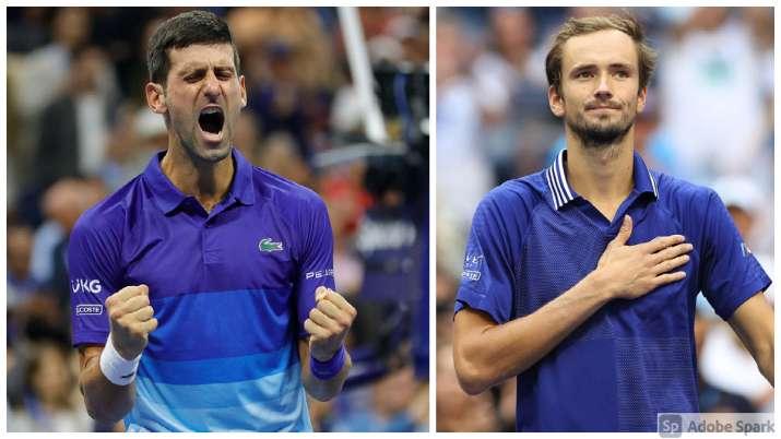 Novak Djokovic, Daniil Medvedev, Novak Djokovic vs Daniil Medvedev,