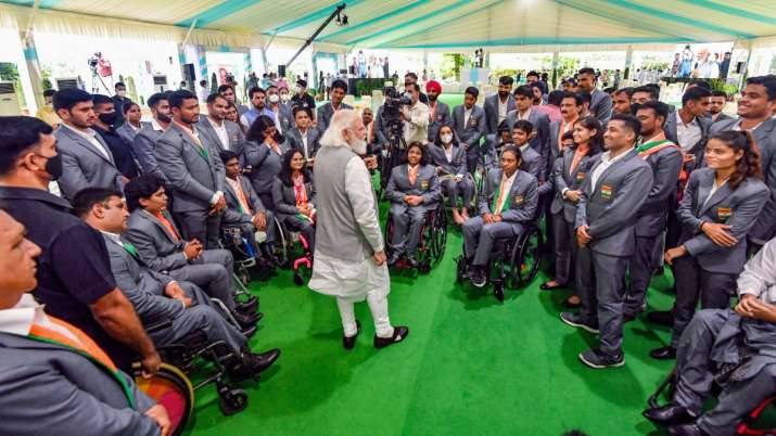 I get motivation, inspiration from you all: PM Modi to para athletes