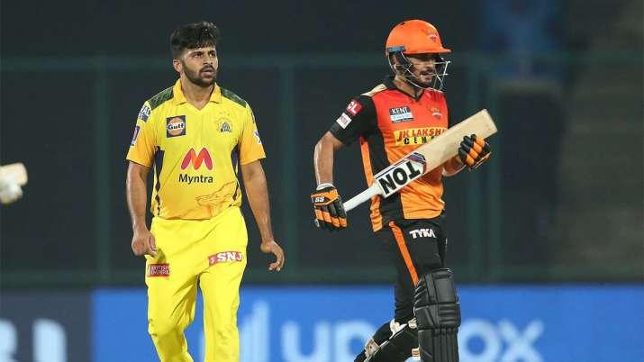 SRH vs CSK IPL 2021 Toss LIVE Updates Match Today