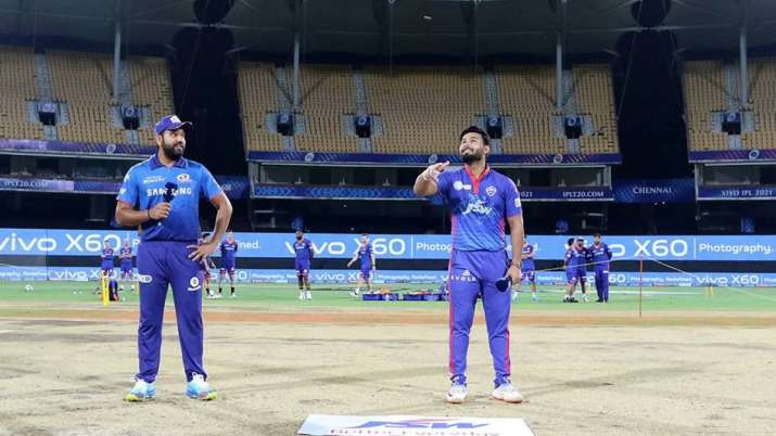 IPL 2021 MI vs DC Toss Today: Find the list of all toss and match results for Mumbai Indians vs Delh