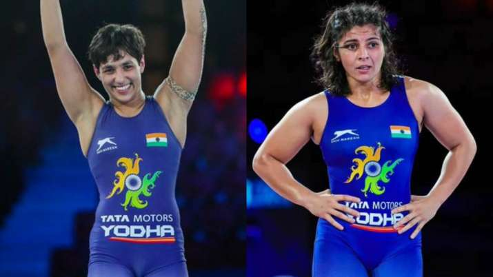 PM Modi congratulates wrestlers Anshu Malik and Sarita Mor for World C'ships medals