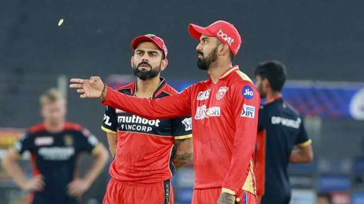 IPL 2021 RCB vs PBKS Toss Today: Find the list of all toss and match results for Royal Challengers B